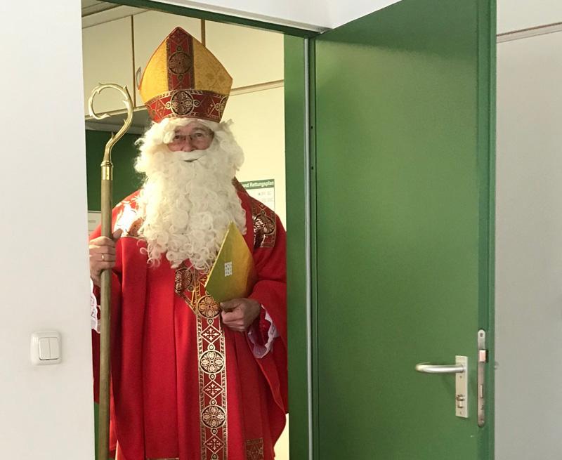 Große Aufregung am Nikolaustag
